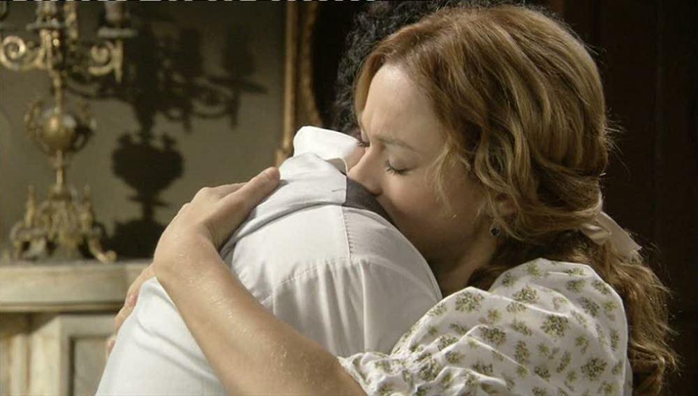 Sara, un gran apoyo para Roberto