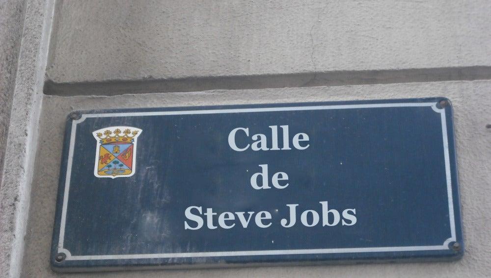 Calle a Steve Jobs