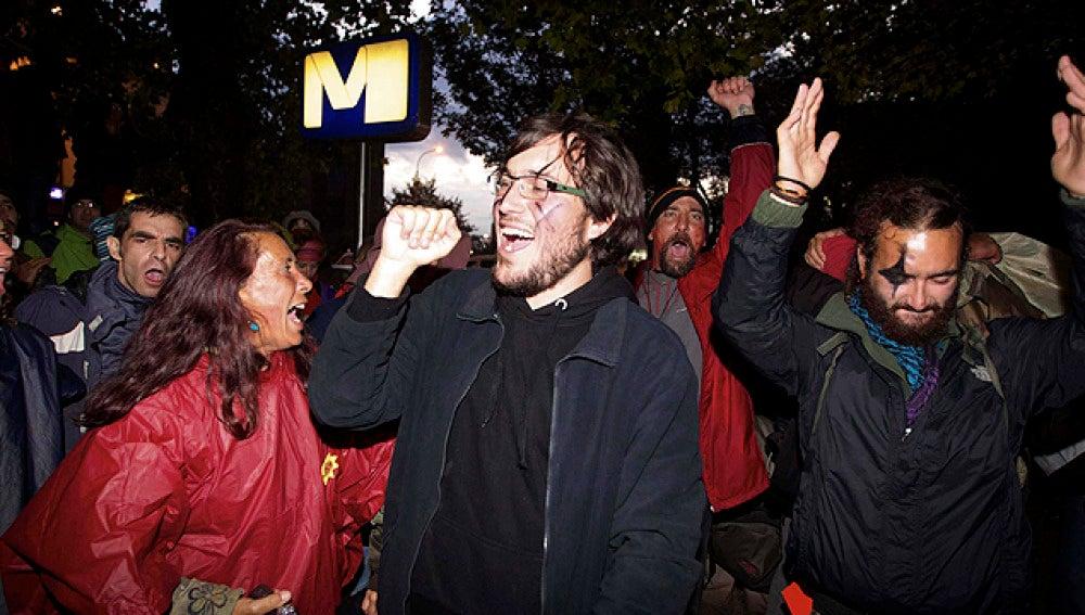 Los 'indignados' llegan a Bruselas