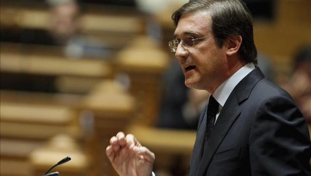 Passos Coelho, primer ministro portugués