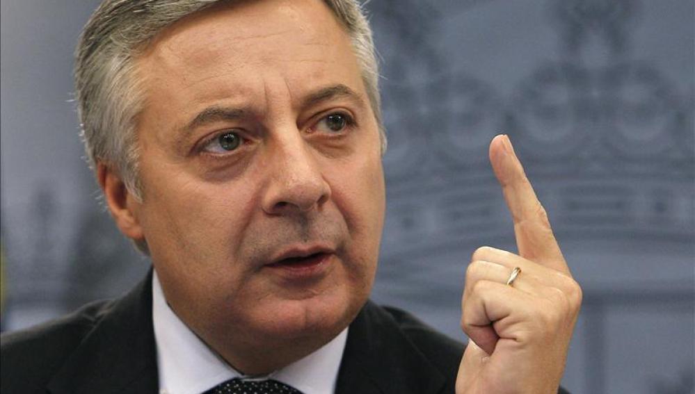 José Blanco, portavoz del Gobierno