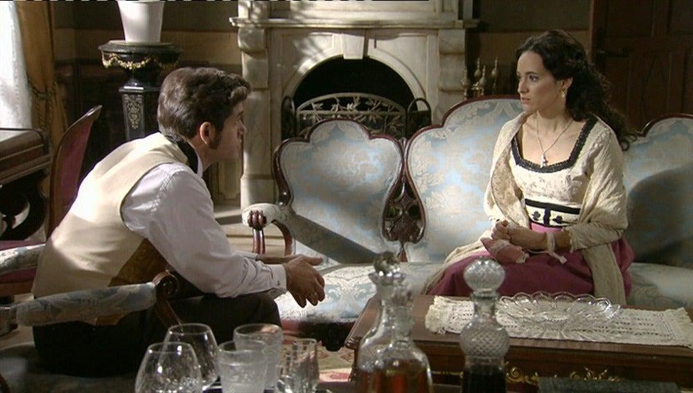 Teresa habla de su pasado con Álvaro