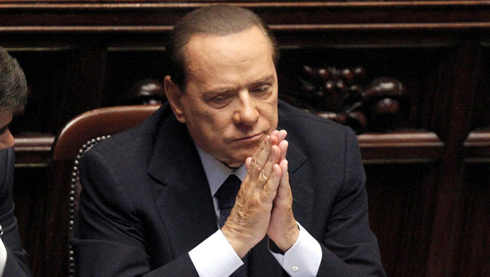 Silvio Berlusconi, en el Senado