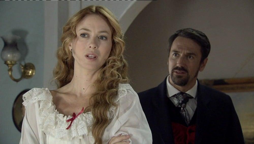 Sara rechaza a Fernando