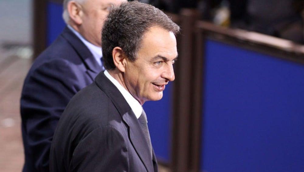 Zapatero, en Bruselas