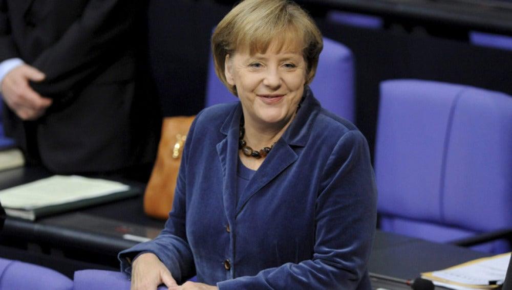 """Angela Merkel asegura que las reformas empiezan a dar """"buenas noticias"""""""