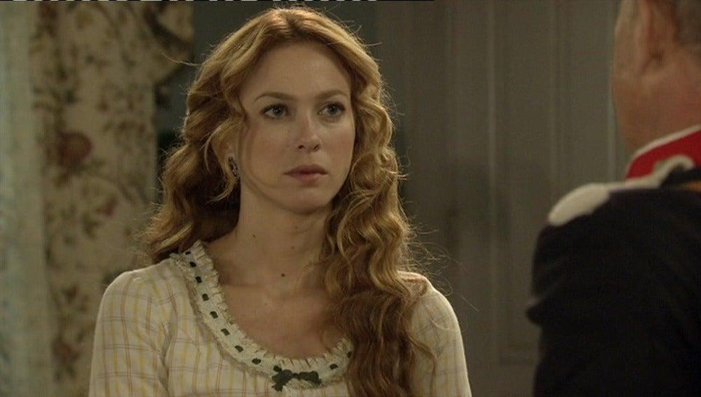 Sara es detenida por Olmedo y sus hombres