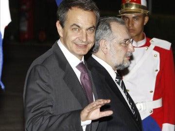 Zapatero en la cumbre de Latinoamérica