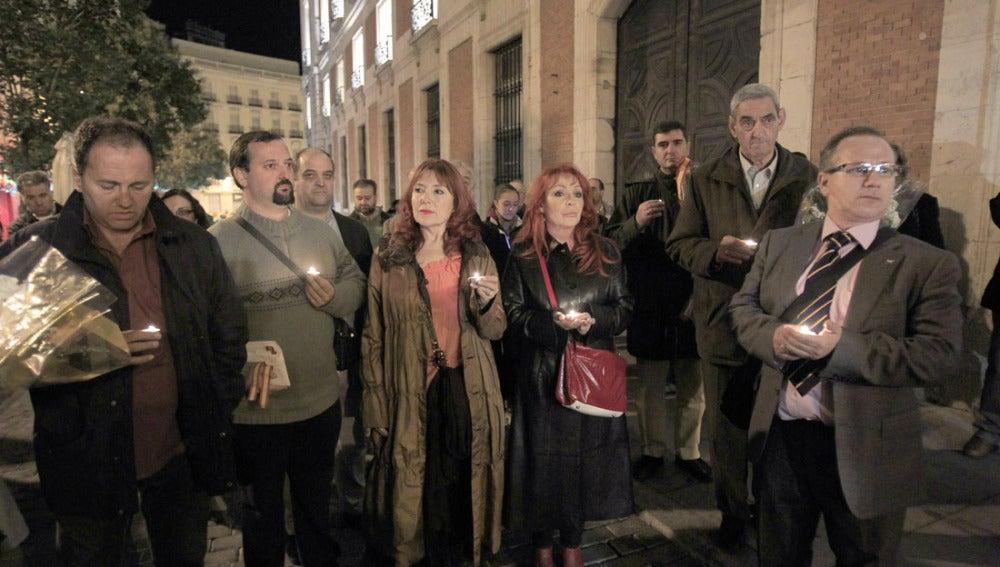 Voces contra el Terrorismo en un homenaje a las víctimas en Madrid