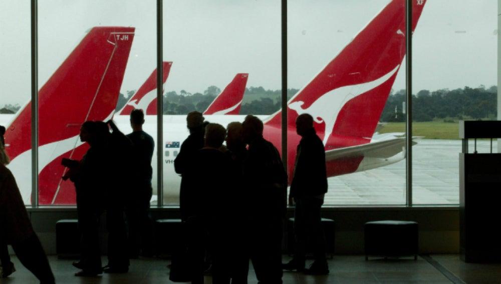 Los aviones de Qantas volverán a volar y se acabarán las huelgas