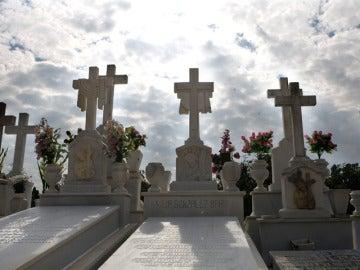 Imagen de un cementerio