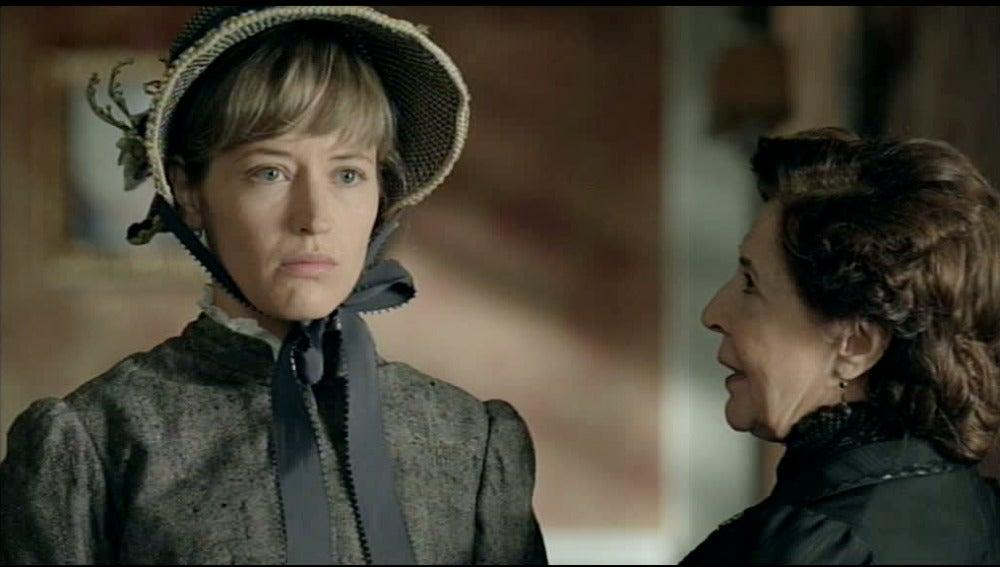 Ángela amenaza a Belén