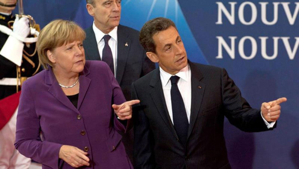 Nicolas Sarkozy, en el G20