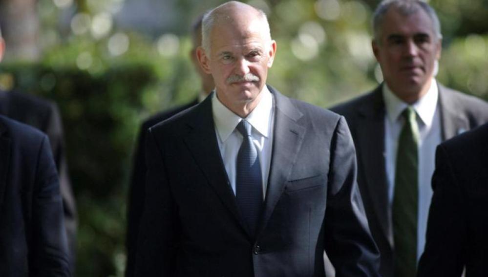El primer ministro griego, Yorgos Papandreu