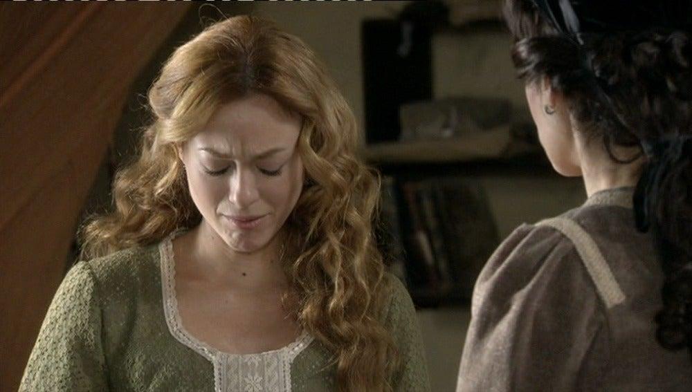 Sara, destrozada cuenta con el apoyo de Adela