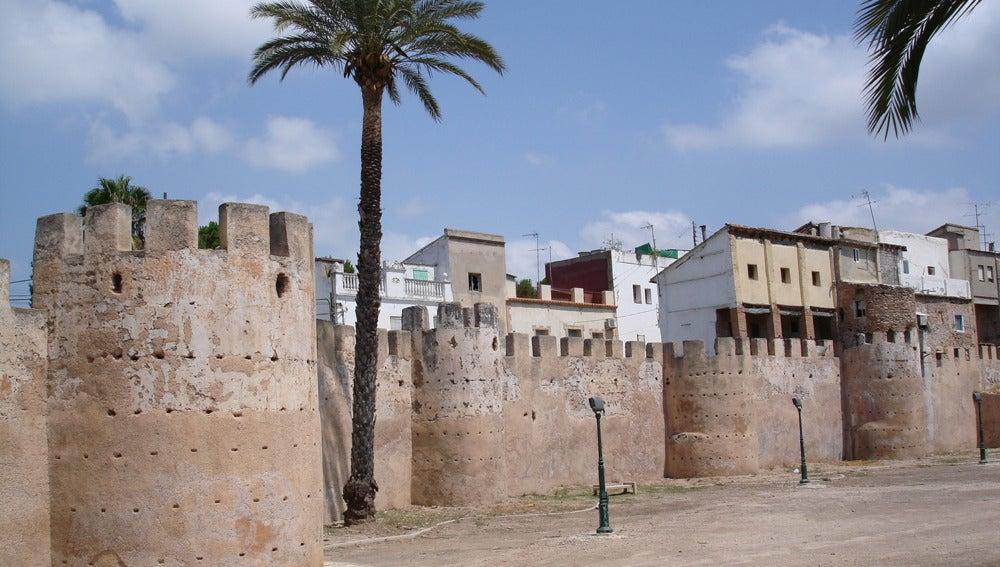 La muralla de Alzira