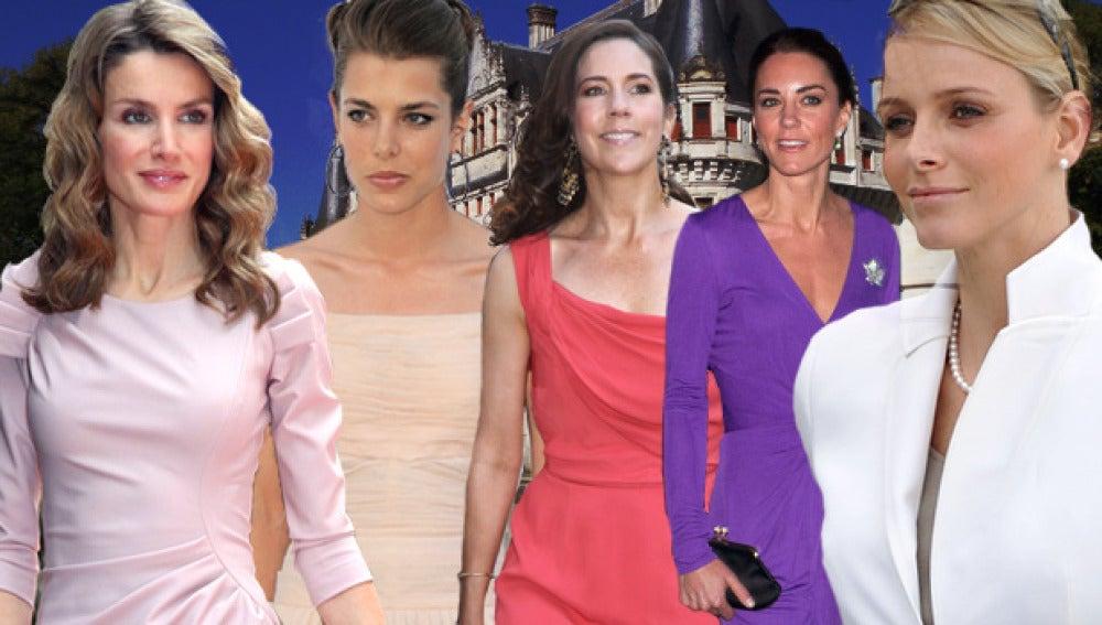 Las princesas europeas compiten en estilo