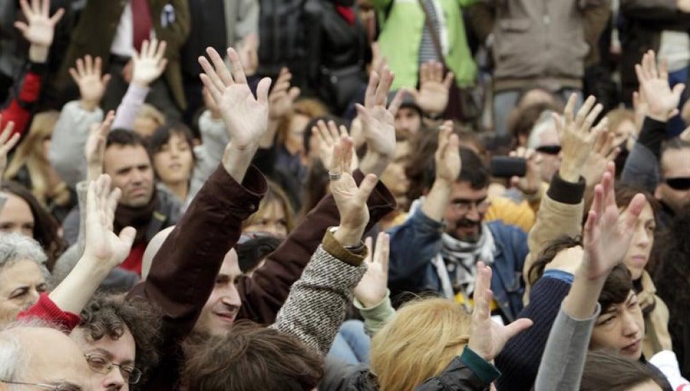 El movimiento del 15M se reúne en Madrid