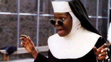 Whoopi Goldberg, protagonista de Sister Act