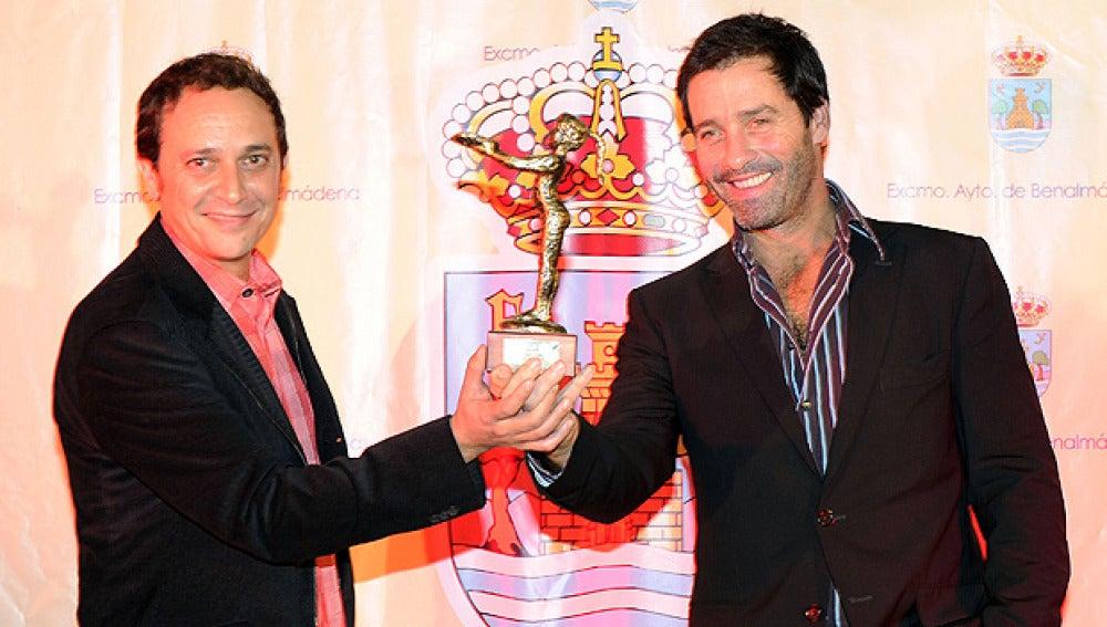 Luis Callejo y Juan Pablo Shuk