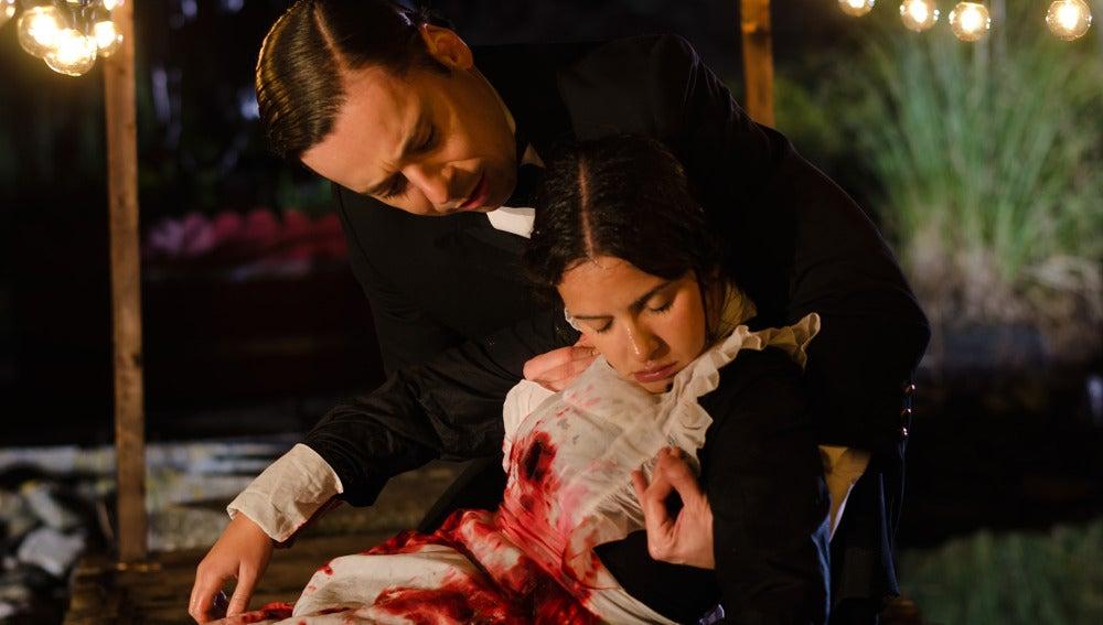 Pascual encuentra el cuerpo de Cristina Olmedo