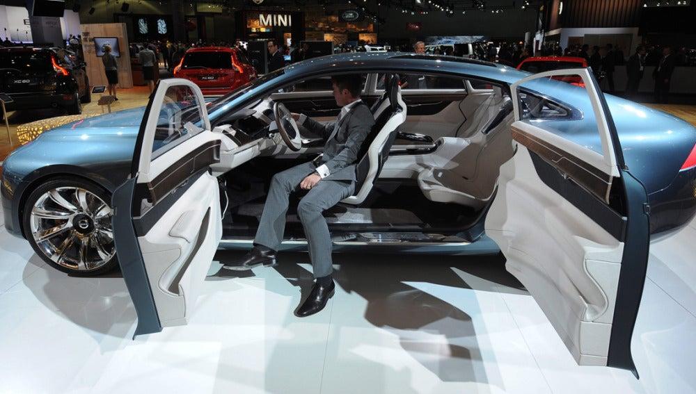 El Volvo You concept car, uno de los vehículos más novedosos del Salón de Los Ángeles