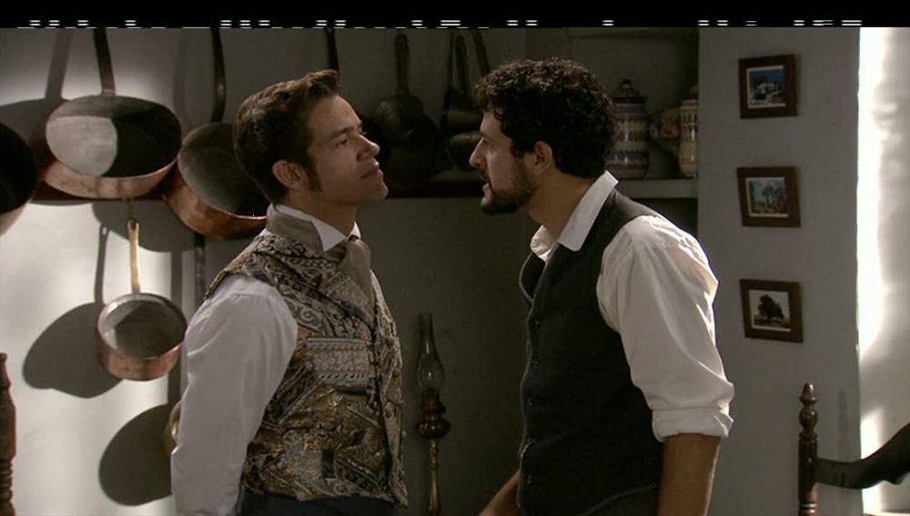 Álvaro y Roberto enfrentados
