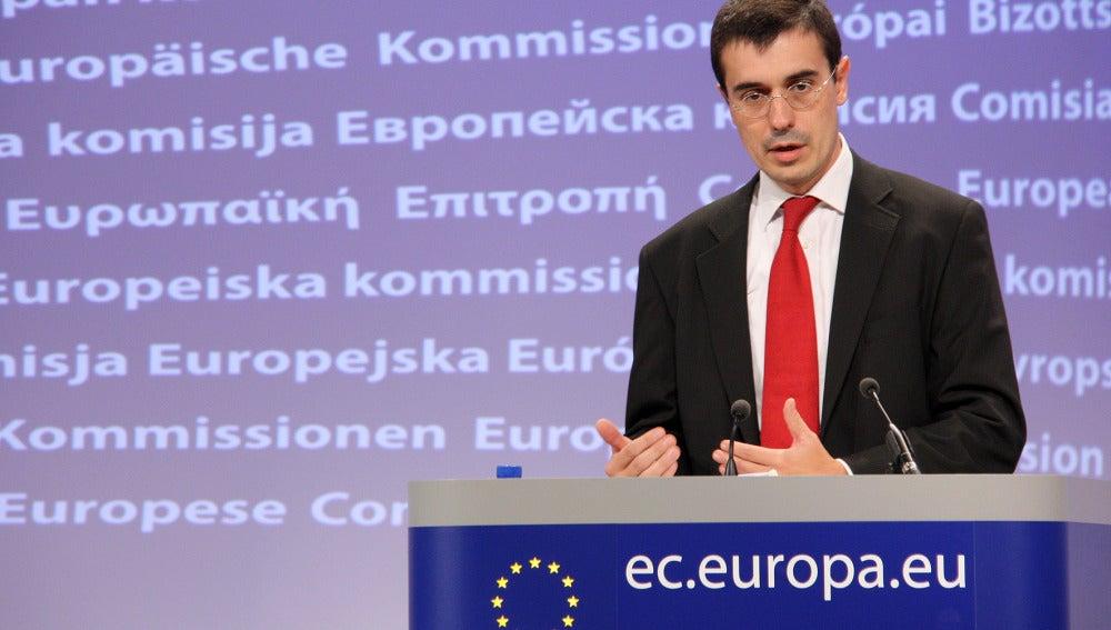 Amadeu Altafaj, portavoz europeo