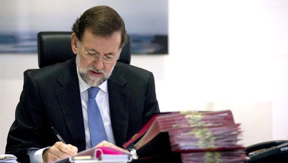 Rajoy prepara el traspaso de poderes
