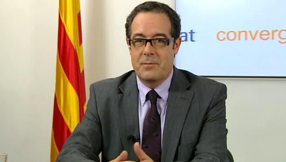 Pere Macias, congresista de CiU