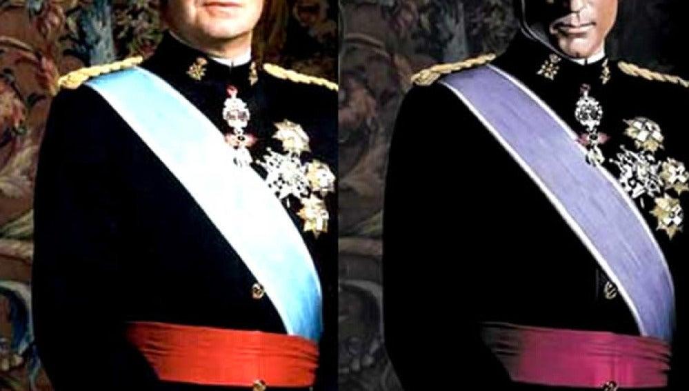 Comparación entre el uniforme del Rey y el de Magneto