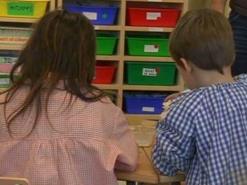 Captura niños colegio