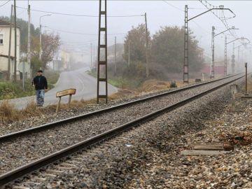 Imagen de archivo de las vías de un tren.