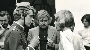Ken Russell en el rodaje de 'El Novio'