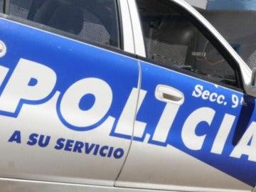 Coche de Policía de Uruguay