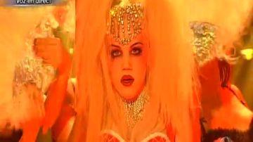 Gala 10 | Angy imita a Christina Aguilera