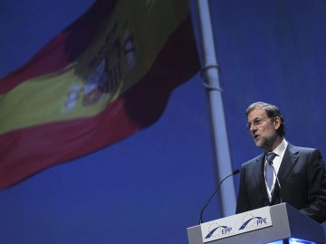 Mariano Rajoy, ante el Partido Popular Europeo