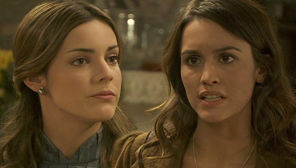 Pepa (Megan Montaner) y Soledad (Alejandra Onieva)