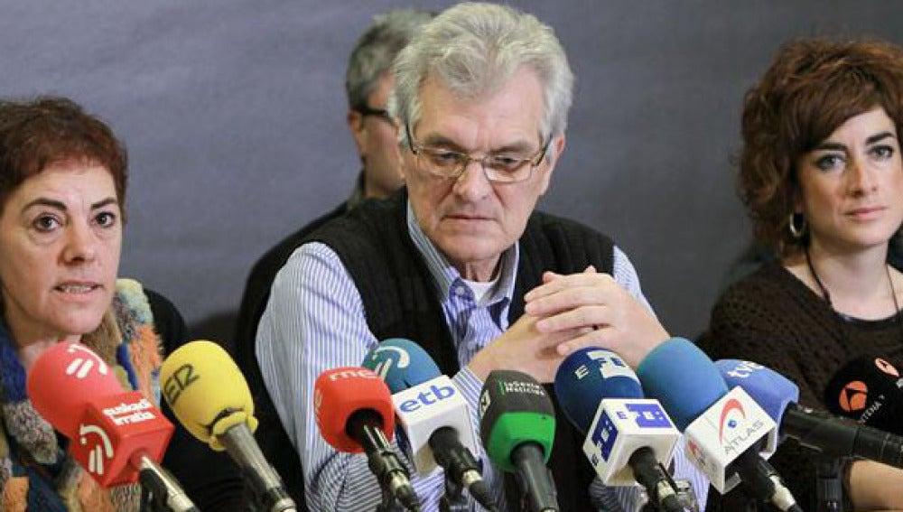 Los dirigentes de Bildu, Koldo Amezketa y Bakartxo Ruiz hablan de las nuevas medidas