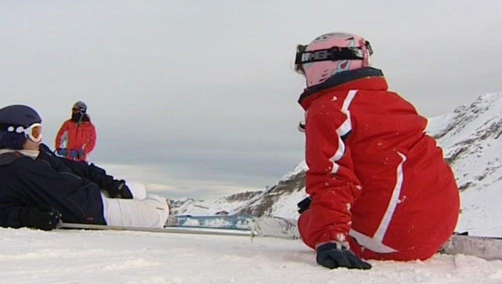 La escasez de nieve reduce la ocupación en el Pirineo