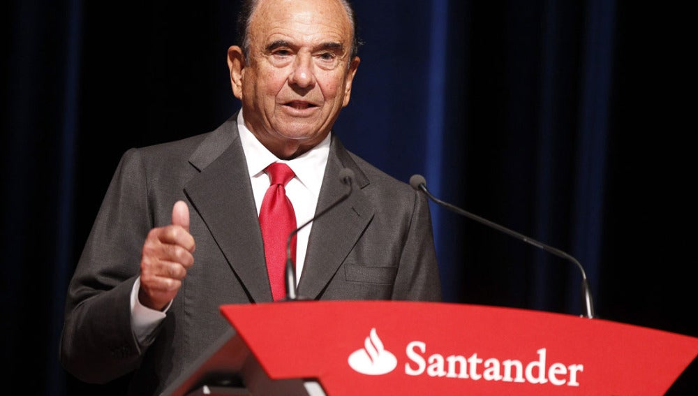 Emilio Botín, presidente del Banco Santander