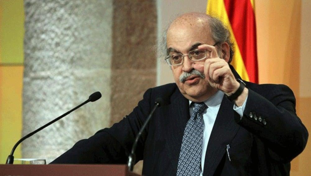 El conseller de Economía de la Generalitat, Andreu Mas-Colell