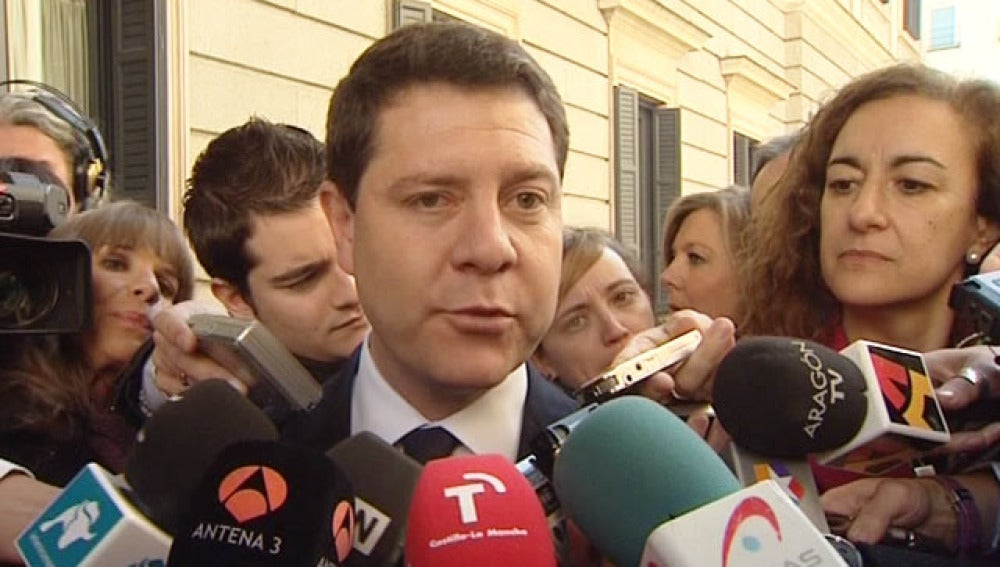 """García-Page cree """"probable"""" una vía alternativa a Rubalcaba o Chacón"""