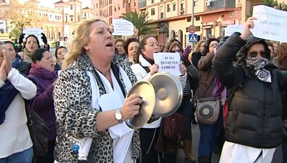 Protestas en Jerez