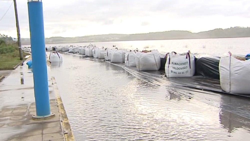 Inundaciones en Valdoviño