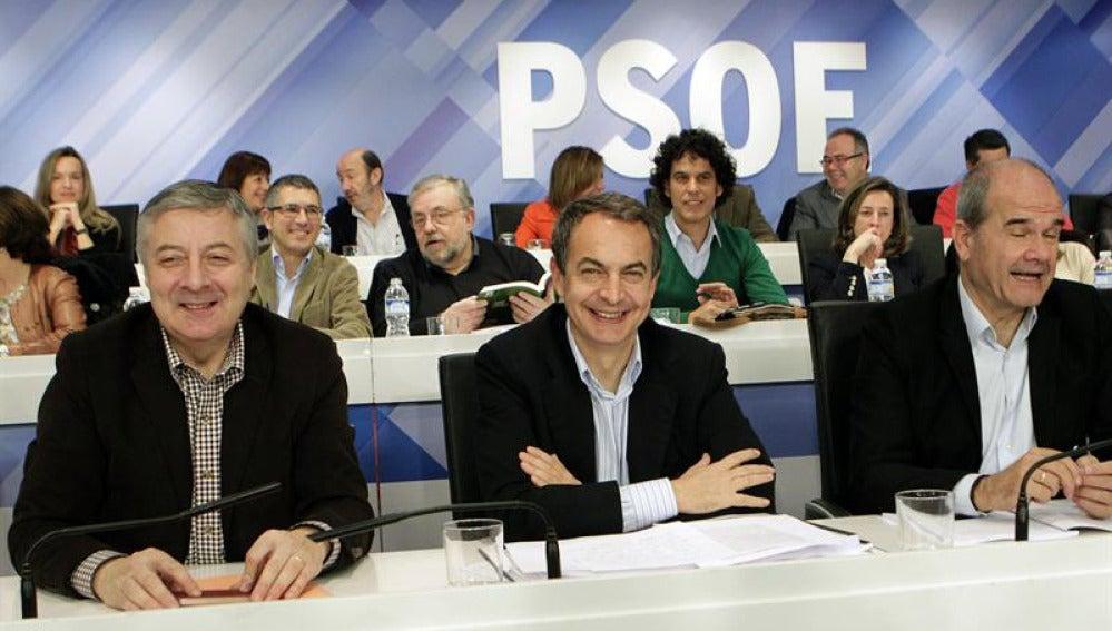Zapatero en el Comité Federal del PSOE