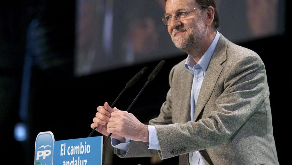 Mariano Rajoy en Málaga