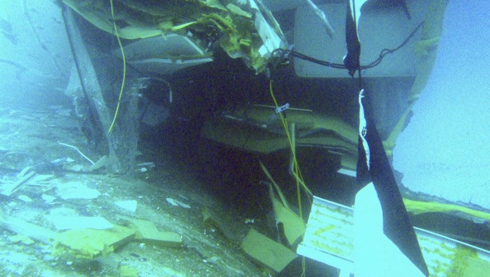 Imágenes submarinas del crucero