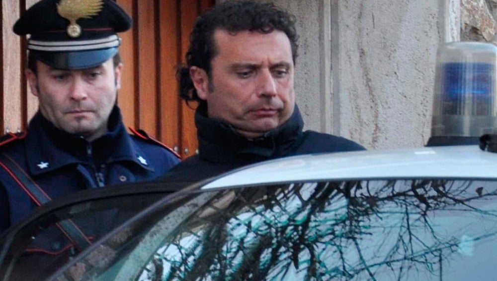 Francesco Schettino, comandante del Costa Concordia