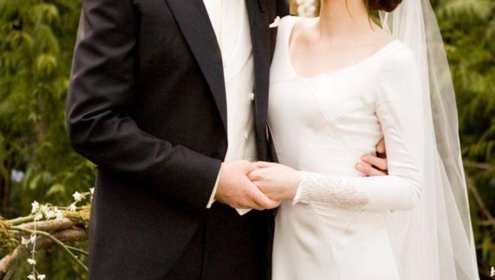 Edward y Bella se casan en Amanecer Parte I